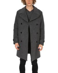 Todd Synder X Champion Grant Officer Coat - Grey