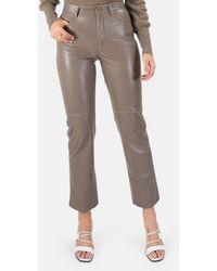 Nanushka Vinni Vegan Leather Pants - Multicolor