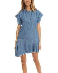 3.1 Phillip Lim Stonewashed Dress - Blue