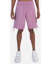 Stone Island Stretch Cotton Shorts - Pink