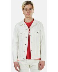 R13 Trucker Jacket - White