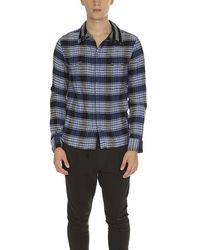 Yigal Azrouël Flannel Shirt - Blue