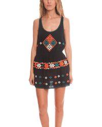 Gat Rimon - Cotton Mesh Dress - Lyst