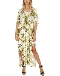 Majestic Filatures - Linen Tie Dye Maxi Dress - Lyst