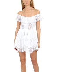 Charo Ruiz Vaiana Dress - White