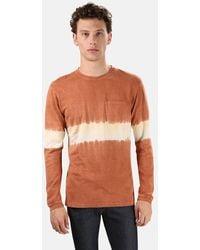 Jungmaven Henleys Baja Long Sleeve Classic T-shirt - Multicolour
