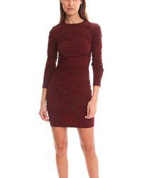 Roseanna Feliz Kirsten Robe Dress - Red