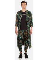 Pierre Louis Mascia Pierre-louis Mascia Aloeuw Kimono Outerwear - Green