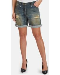Alexander Wang Denim Shorts - Blue