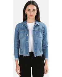 L'Agence Janelle Slim Jacket - Blue