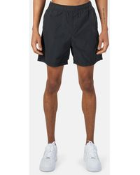 Stone Island Garment Dyed Cotton Swim Shorts - Black
