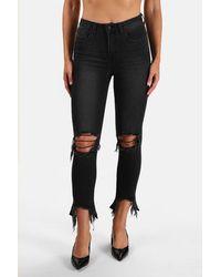 L'Agence High Line Skinny Jeans - Black
