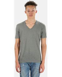 V :: Room - V Neck T-shirt - Lyst