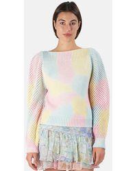 LoveShackFancy Rosie Pullover Jumper - Multicolour