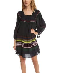 Apiece Apart Sayulita Square Neck Dress - Black