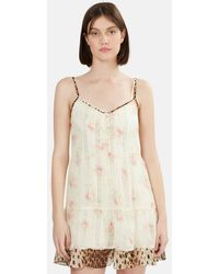 R13 Overlay Dress - Natural