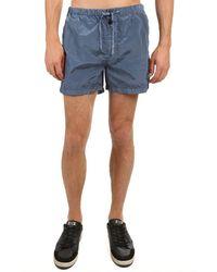 Stone Island Nylon Metal Swim Shorts - Blue