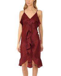 MISA Los Angles Ele Dress - Red