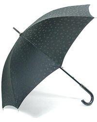 Lucien Pellat Finet Print Umbrella - Black