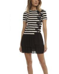 Thakoon Addition Thakoon Pleated Dress - Black