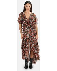 MISA Los Angles Katarina Dress - Multicolour
