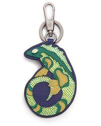 3.1 Phillip Lim Galapagos Lizard Keyfob Keychain - Blue