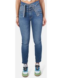 Mother The Triple Stack Dazzler Pants - Blue