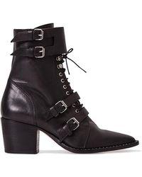 IRO Lorna Boots Shoes - Black