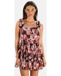 MISA Los Angles Salome Dress - Pink