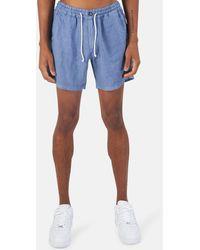 President's Bermuda New Tripoli Shorts - Blue