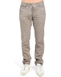 Massimo Alba Alunga Trousers - Grey