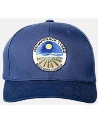 Blue & Cream Sagaponack Snapback Hat - Blue