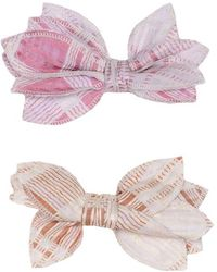 LoveShackFancy - Prairie Plaid Bows - Lyst