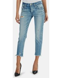 Moussy Vintage Kelley Tapered Jeans - Blue