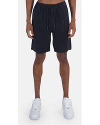 President's Linen Bermuda Short - Blue