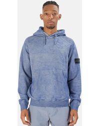 Stone Island - Stone Island Dust Treatment Hoodie Sweater - Lyst