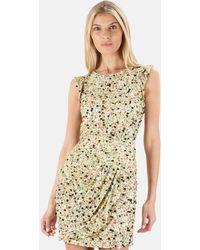 3.1 Phillip Lim Flutter Sleeve Mini Dress - Multicolour