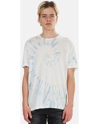 Jungmaven Tie Dye Graphic T-shirt - White