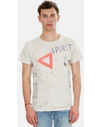Remi Relief Vintage Scribble T-shirt - White