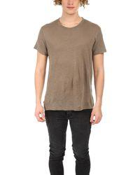 IRO Jaoui Slub T-shirt - Grey