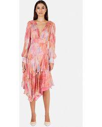 LoveShackFancy Meridian Dress - Pink