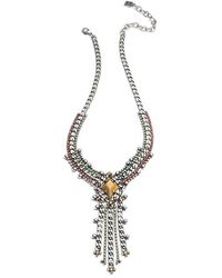 DANNIJO Nadeen Necklace - Metallic