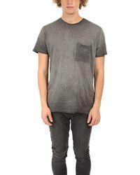 Alternative Apparel Element Wash Pocket T-shirt - Gray