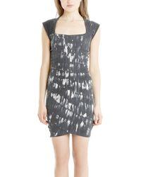 Kelly Wearstler - Spirula Cap Sleeve Printed Dress - Lyst