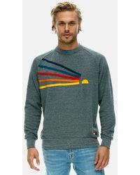 Aviator Nation Daydream Sweatshirt Jumper - Grey