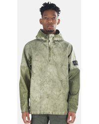 Stone Island Membrana Oxford 3l Lightweight Jacket - Natural