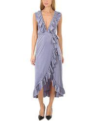 MISA Los Angles Eve Dress - Purple