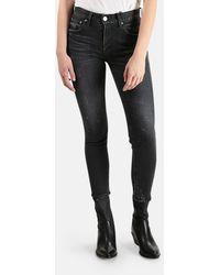 Moussy Vintage Mv Velma Skinny Jeans - Black