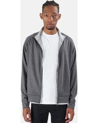 WHEELERS.V Garros Full Zip Outerwear - Grey