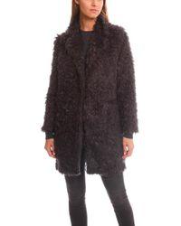 Elizabeth and James - Iris Boyfriend Faux Fur Coat - Lyst